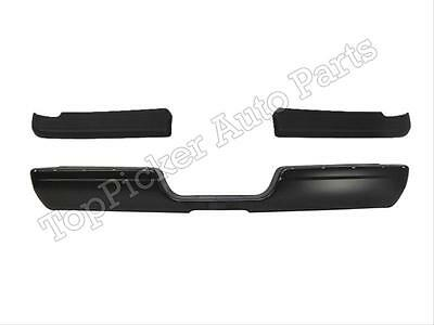 FOR 94-02 Dodge Ram Pickup Rear Step Bumper Bar Black With Top Pad CH1102170