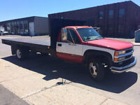 1995 Chevrolet GM4  FLATBED 16'