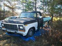1979 F100  good winter project for handy person LOOK!!!
