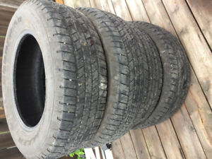4 set of tires
