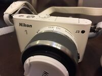 Nikon 1 j3 included with 2 lens