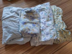 Couvertures pour bassinette