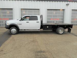 2013 RAM 55500 CHASSIS FLAT DECK