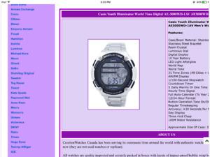 Casio world time illuminator stainless steel watch nice