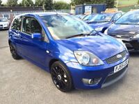FORD FIESTA 2.0 ST 3 DOOR FULL LEATHER 2006 / 2 KEEPERS / FULL SERVICE HISTORY / HPI CLEAR / 2 KEYS