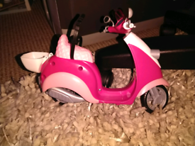 Barbie's scooter