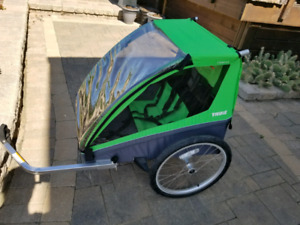 Thule double bike trailer new