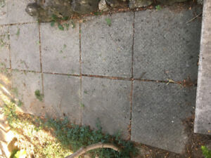 Paver - 24 x 24 and larger patio concrete pad