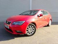 SEAT LEON 1.6 TDI 2015 15 DIESEL GOOD AND BAD CREDIT CAR FINANCE AVAILABLE