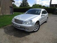 Mercedes-Benz C200 2.1TD ( 122bhp ) 2006MY Elegance SE***only 86,000 miles**