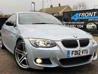 2012 BMW 3 SERIES 320D SPORT PLUS EDITION 6SPEED MANUAL COUPE DIESEL COUPE DIESE