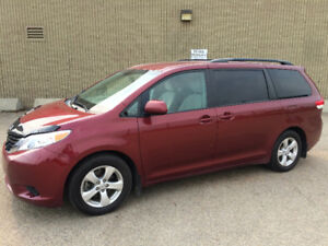 2014 TOYOTA SIENNA LE , BACK UP CAMERA, 8 SEATER, 5DR, FWD