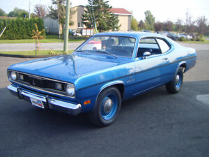 Wow 1970 Plymouth Duster 340, manuel, match number, très rare