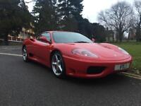 2002 Ferrari 360 360 MODENA 2 door Coupe