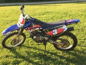 TTR-125 Yamaha dirt bike