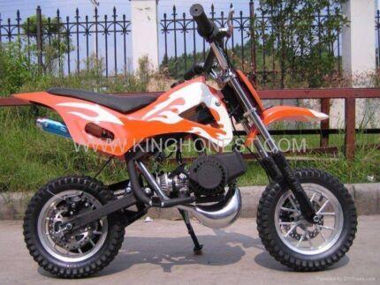 49cc BRAND NEW MINI MOTOR DIRT BIKE KIDS PEEWEE pw 50