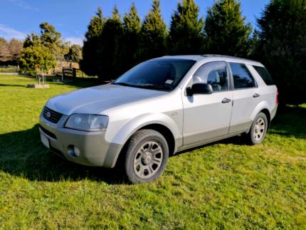 2004 Ford Territory Wagon