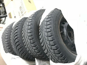 Tires with rims (winter tires)