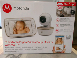 """Motorola MBP855CONNECT 5"""" Video Baby Monitor With Wi-Fi (BNIB)"""