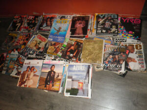 Magazines for sale or trade