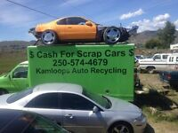 $$ Cash for all scrap vehicles junk car removal up to $300