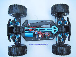 New RC Brushless Electric Truck TOP2 Version LIPO, 4WD 2.4G London Ontario image 7