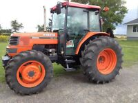 REDUCED New Liskeard Kubota tractor for sale