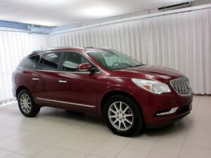2017 Buick Enclave 3.6L AWD SUV 7PASS w/ HEATED SEATS, SUNROOF,