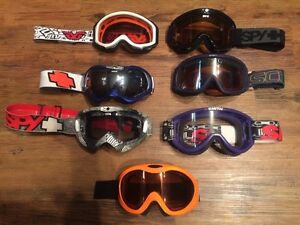 MX goggles some new and some like new