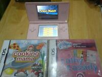 Nintendo ds I complete console with 2games