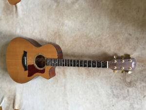 Guitare acoustique Taylor 512CE 2012 en parfaite condition!