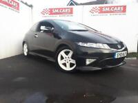 2010 10 HONDA CIVIC 1.8 i-VTEC TYPE S GT 3 DOOR.GREAT LOOKING CAR,FINANCE POSS .