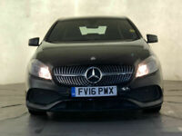 2016 MERCEDES-BENZ A200 AMG LINE SAT NAV LEATHER SEATS 1 OWNER SERVICE HISTORY