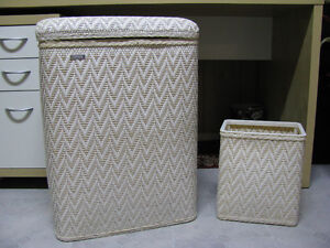 LINEN HAMPER AND BIN