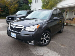 2015 Subaru Forester LTD XT TURBO PREM 2 YR WARR AWD 40k