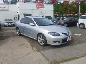 2009 MAZDA 3 Sedan / 3 Years Warranty and Safety Included