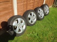 Vauxhall winter wheels and tyres