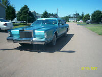 For Sale: 1979 Lincoln Continental.