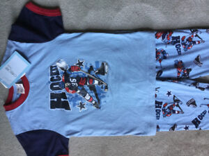 BRAND NEW HOCKEY PYJAMAS SIZE 6x