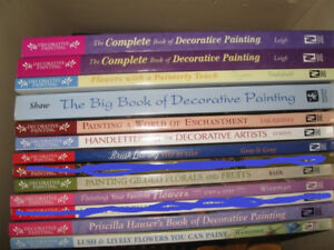 HOW-TO Decorative Painting Books (never been used)