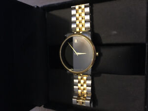 14k Gold Movado Museum Watch