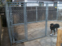 FENCES IN WOOD AND CHAIN LINK AND REPAIRS