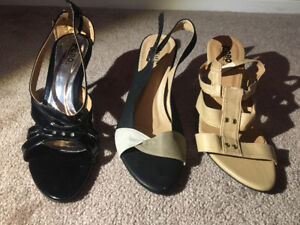 Heels Size 6 and 8