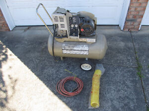 Lightly used 2hp air compressor