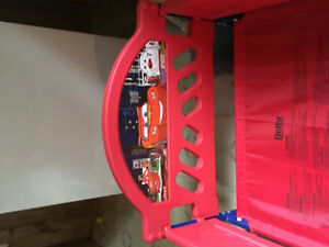 Disney Cars 3D Toddler bed-BARELY USED