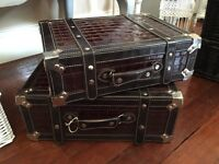 Faux leather, very heavy Storage Cases
