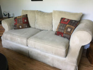 Chesterfield and love seat for sale