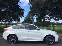 2015 15 BMW X4 3.0 XDRIVE30D M SPORT 4D AUTO 255 BHP DIESEL