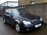 2003 MERCEDES C220CDi CLASSIC SE ESTATE 5DR AUTO TURBO DIESEL LOW MILEAGE ALLOYS