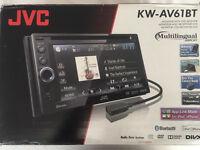 JVC KW-AV61BT Double Din Head Unit